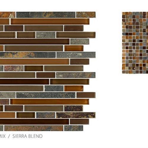 Glass  Slate Sierra Blend