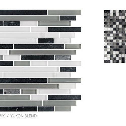Glass  Slate Yukon Blend