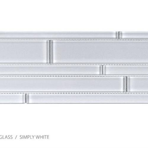 Translucent Clear Glass Simply White