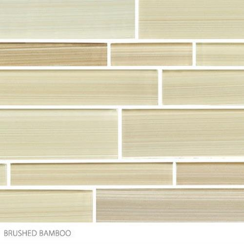 Translucent Fresco Glass Brushed Bamboo