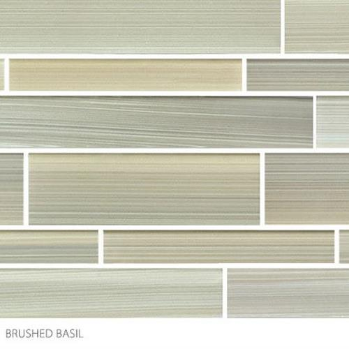 Translucent Fresco Glass Brushed Basil