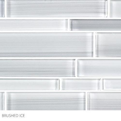 Translucent Fresco Glass Brushed Ice