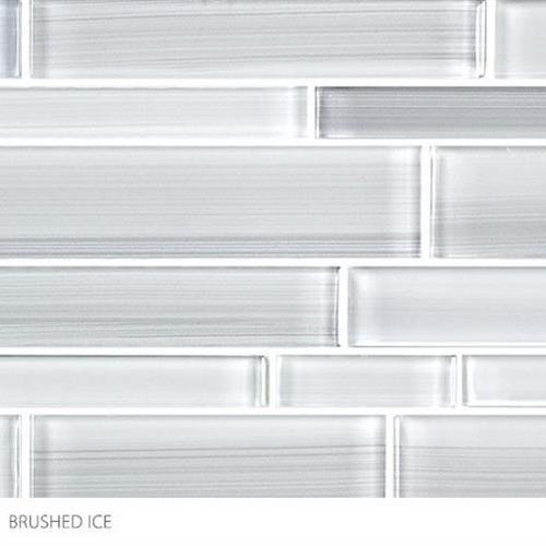 Translucent Fresco Glass Brushed Ice