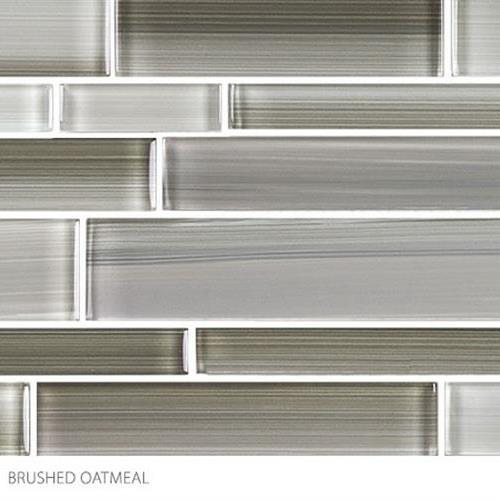 Translucent Fresco Glass Brushed Oatmeal