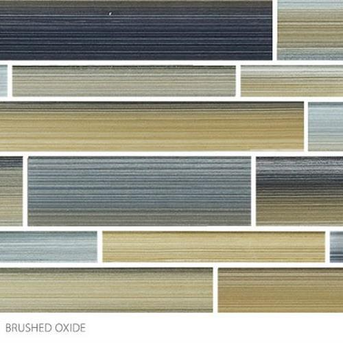 Translucent Fresco Glass Brushed Oxide