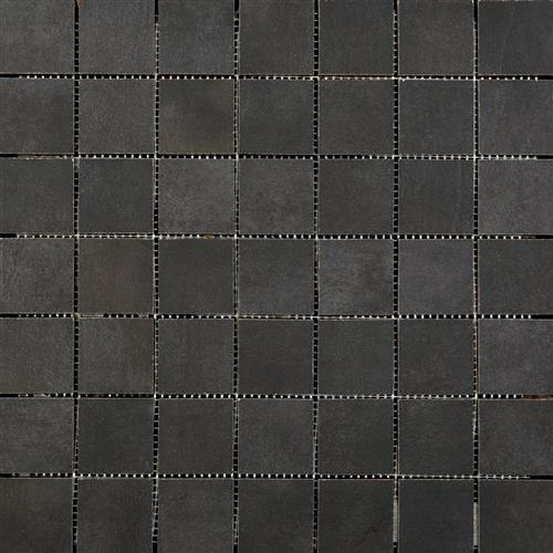 Cosmopolitan in Charcoal Mosaic - Tile by Emser Tile