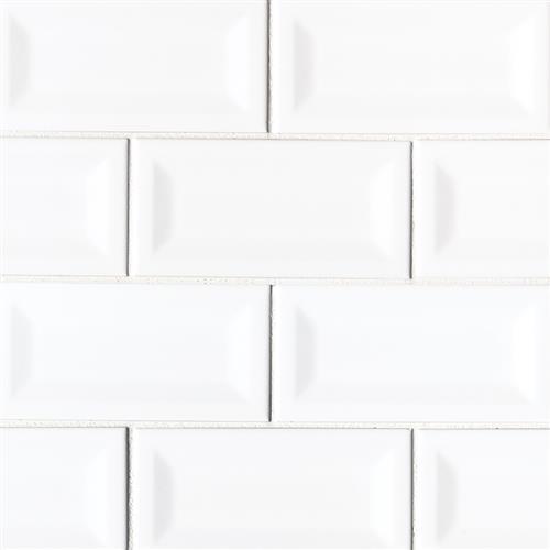 Domino White Glossy NWHIGLO3X6INVBEV