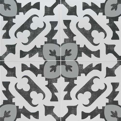 Kenzzi Encaustic Tile Collection Brina NBRI8X8