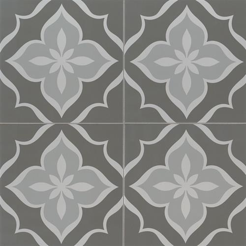 Kenzzi Encaustic Tile Collection La Fleur NLAF8X8