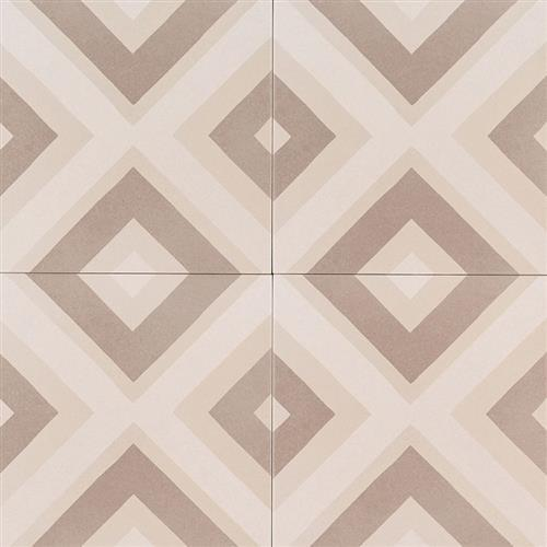Kenzzi Encaustic Tile Collection Metrica NMET8X8