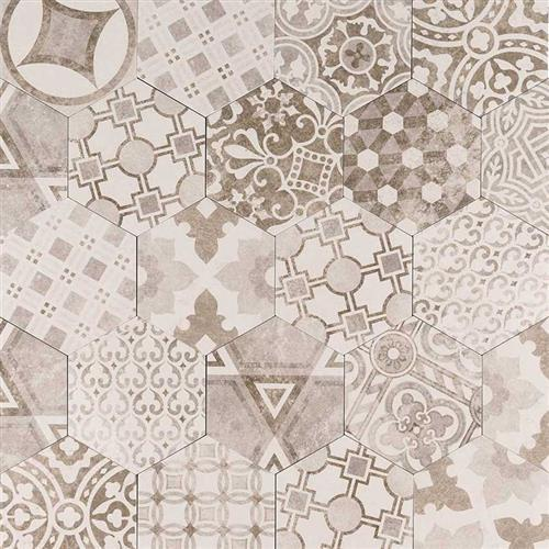 Kenzzi Encaustic Tile Collection Mixana NMIX7X8HEX