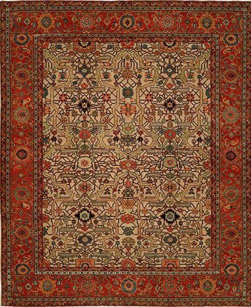 Azer Antik Ivory Red-109
