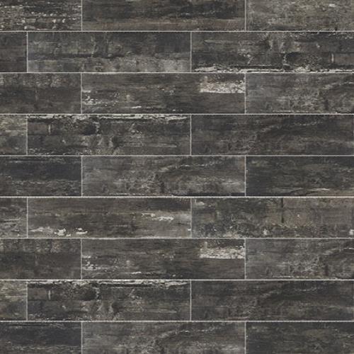Railwood Weathered Black - 6X36