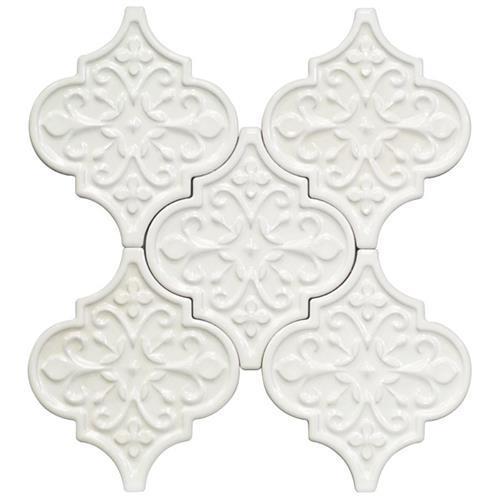 Terra Ignis Floral Lanterns Blanco