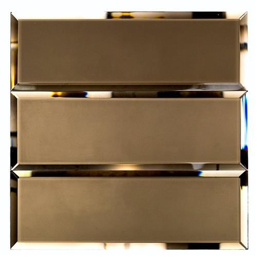 Mirror Glass Bronze 4X12 Frosted