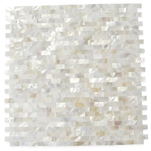 Pearl  Seamless Bricks White