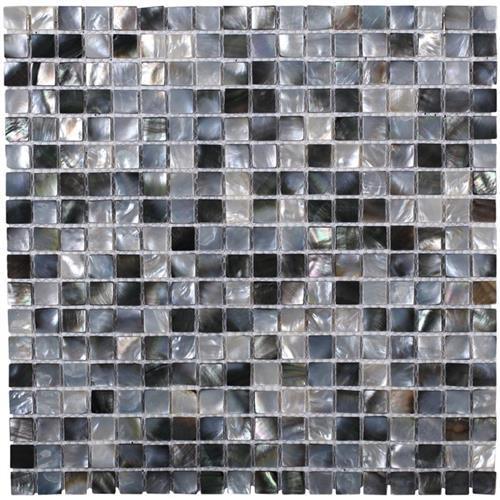 Pearl  Squares Black Lip Semi-Precious