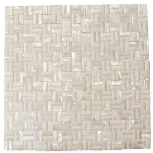 Pearl  Weave 3D White
