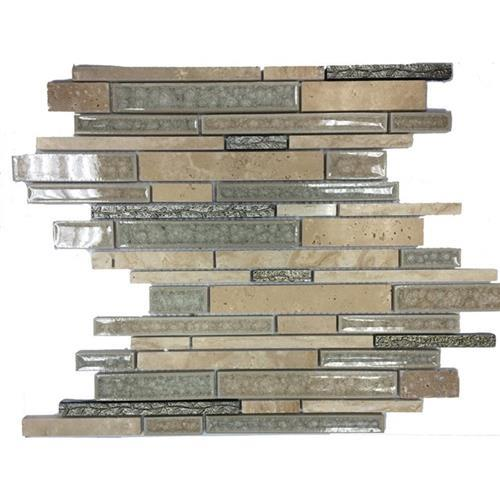 Blends - Art Glass  Botanical Travertine