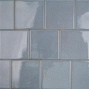 GlassTile Blends-ArtGlass ARTG4X4BLUSEA BlueSea4x4