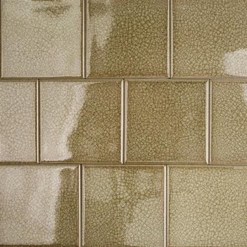Blends - Art Glass Smoky Fern 4X4