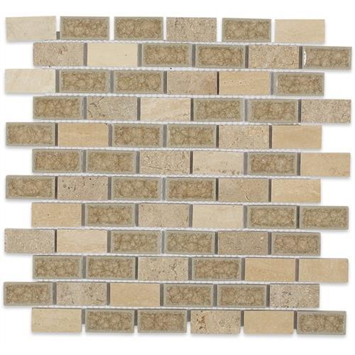Blends - Art Glass  Country Travertine 1X2