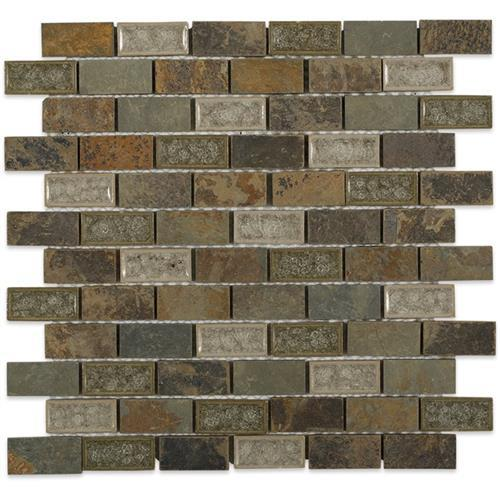 Blends - Art Glass  Rustic Slate 1X2