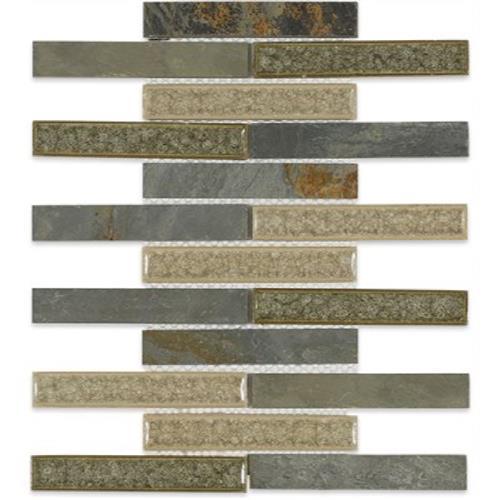 Blends - Art Glass  Rustic Slate 1X6