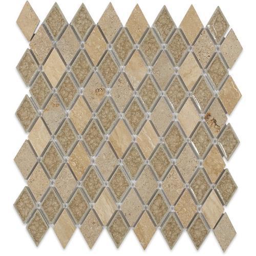 Blends - Art Glass  Country Travertine Diamond