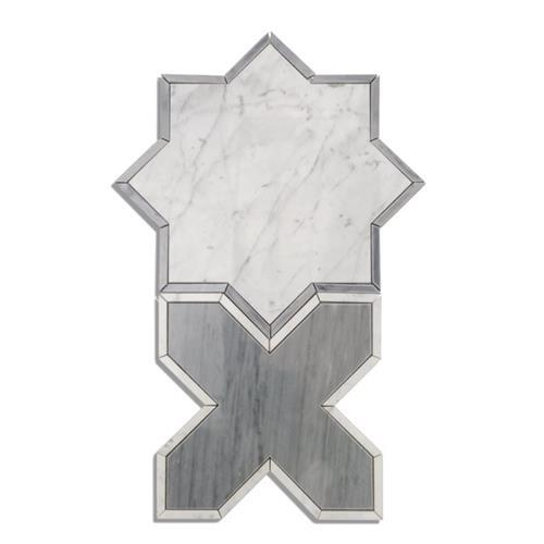 Bodiam Series White Carrara And Bardiglio