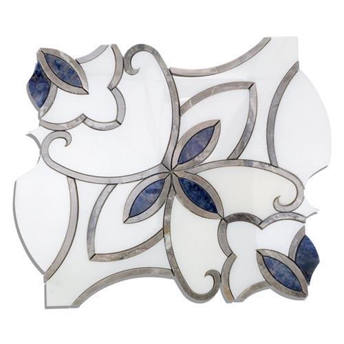 MJ Grace Series Cersei- China White Diamond Blue And Northern Light Stone