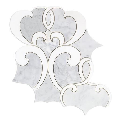 MJ Athalie White Carrara And White Thassos