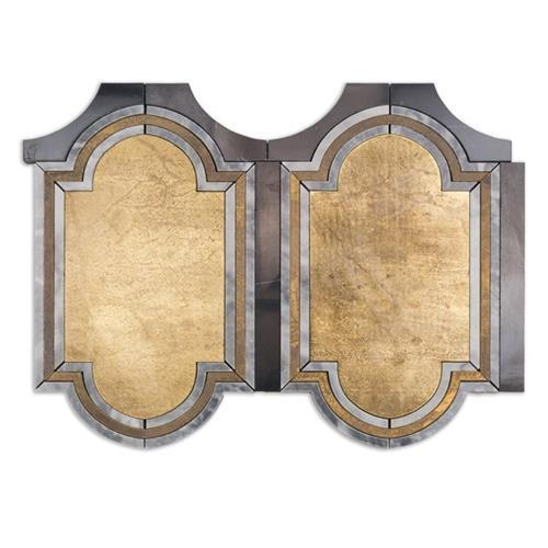 Ornato Series Brescia- Brass Bardiglio And Black Jade