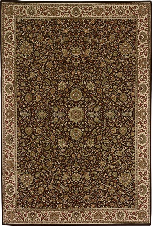 Oriental Weavers 172d2 Brown Area Rugs
