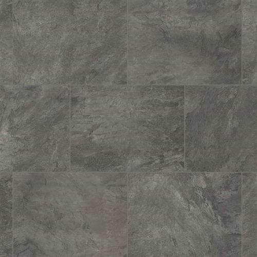 Korlok Select  Tile in Volcanic Slate - Vinyl by Karndean Design