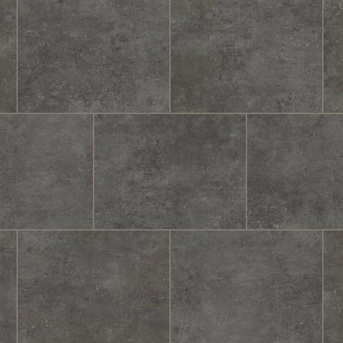 Korlok Select  Tile in Oxford Grey - Vinyl by Karndean Design