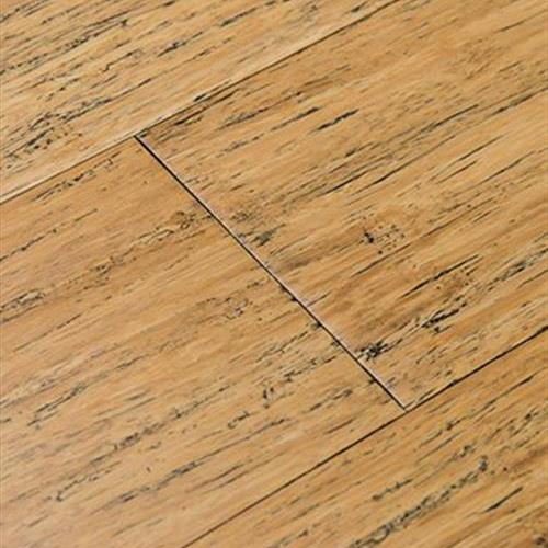 Fossilized Strand Bamboo   Wide Click in Distressed Natural - Hardwood by Cali Bamboo
