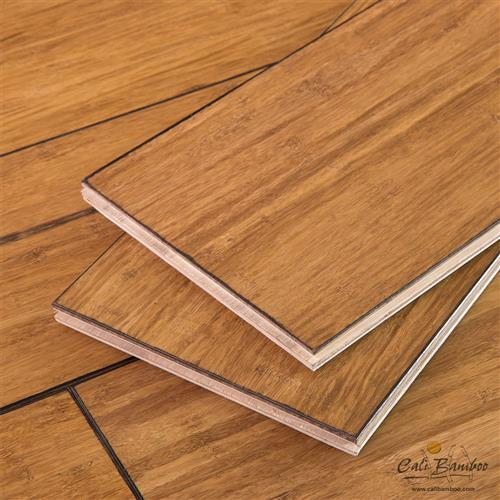 Cali bamboo eco engineered hybrid bamboo antique java for Eco bamboo flooring