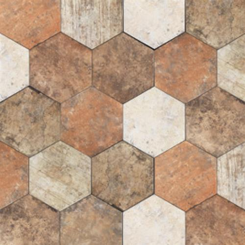 Swatch for Central Park Hexagon   1010 flooring product