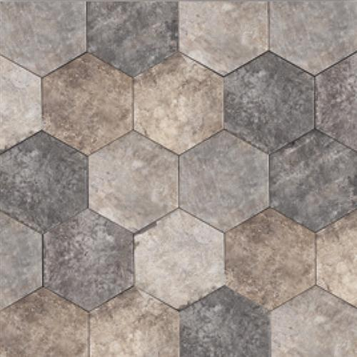 Swatch for Wallstreet Hexagon   1010 flooring product