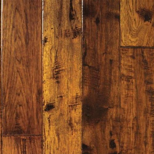 A close-up (swatch) photo of the Vermillion Hickory   Random flooring product