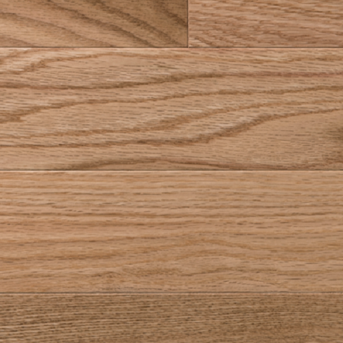 Natural Red Oak - Smooth