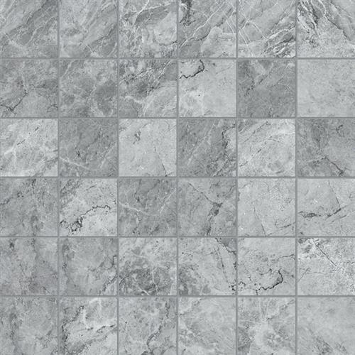 Melody Collection in Carbon  Mosaic - Tile by Chesapeake Flooring