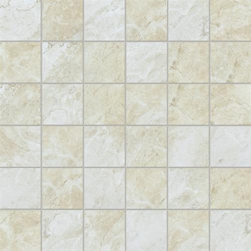 Melody Collection in Ivory  Mosaic - Tile by Chesapeake Flooring