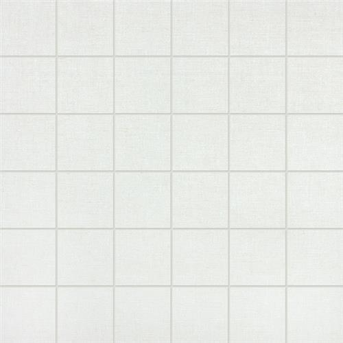 Fabric Collection in Ivory  Mosaic - Tile by Chesapeake Flooring
