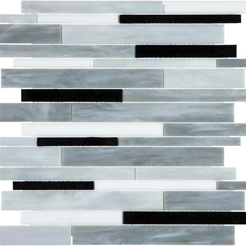 Ornamental Glass Arabescato Random Strip
