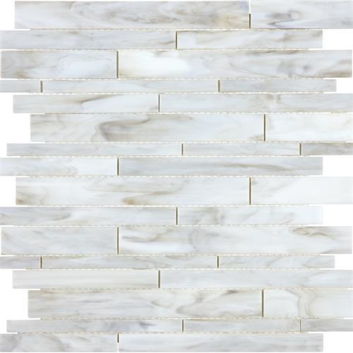 Ornamental Glass Calacatta Random Strip