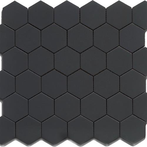 Chesapeake Mosaics Black Hexagon