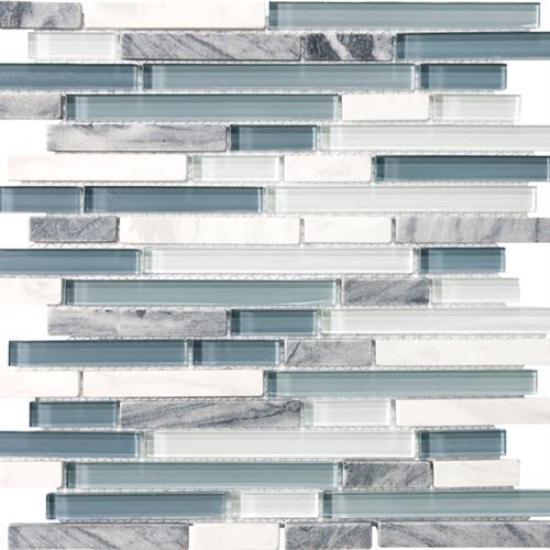 Stone Glass Blend Waterfall - Random Strip