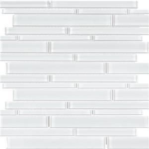 GlassTile EssentialsGlass EG-IC-Random IceRandomStrip